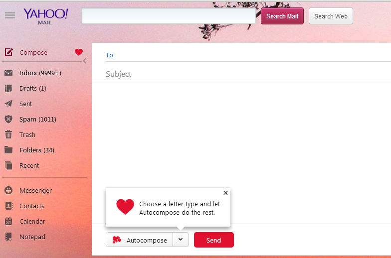 Different Option for Mails